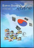 Revista Korean Stamp N 142 2015 - Libri, Riviste, Fumetti