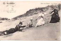 Nieuwpoort-Dames In Duinen -  Dames Dans Les Dunes -Nieuport- Ladies In The Dunes. 1913. - Nieuwpoort
