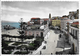 Gaeta (Latina). Piazza Generale Traniello. - Latina