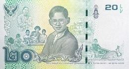 THAILAND P. 130 20 B 2017 UNC - Thailand