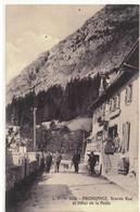 ABONDANCE  Grande Rue Et Hotel De La Poste  N° 1036 - Abondance
