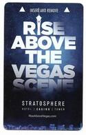Stratosphere Casino & Hotel, Las Vegas, Used Magnetic Hotel Room Key Card , # Strato-40 - Hotelkarten