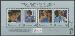 Bermuda 1998 Tod V. Prinzessin Diana Block 8 Postfrisch (C93919) - Bermudas