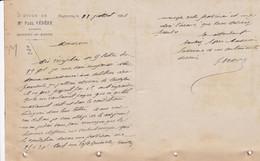 BAGNERES DE BIGORRE ETUDE DE ME PAUL VEDERE HUISSIER ANNEE 1901 - Frankreich