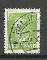 ESTLAND Estonia 1939 O HALJALA Michel 114 - Estonie