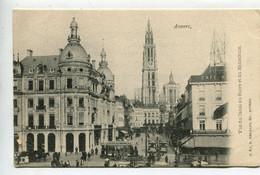 Anvers Vue Du Canal Au Sucre Hansahuis - Belgium