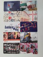 = CROATIA - 10 DIFFERENT PHONECARDS  = LOT NR. 93X1 - Phonecards
