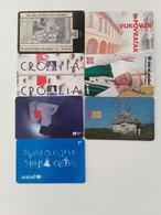 = CROATIA - 7 DIFFERENT PHONECARDS  = LOT NR. 94X3 - Phonecards