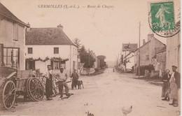 71 - GERMOLLES - ROUTE DE CHAGNY - Sonstige Gemeinden