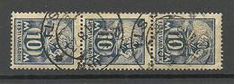 Estland Estonia 1923 Michel 39 A As 3-stripe - Estonie