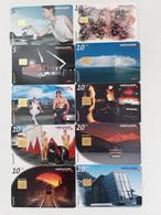 = SWITZERLAND - 10 DIFFERENT PHONECARDS  = LOT NR. 108X2 - Phonecards