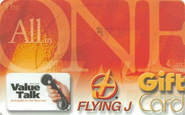 Flying J Gfit Card & Calling Card - All In One - Gift Cards