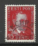Estland Estonia 1938 O KEHRA Michel 140 - Estonie