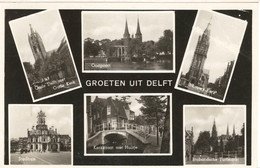 Delft, Groeten Uit Delft, Gelopen - Delft