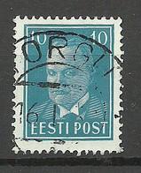 ESTLAND ESTONIA 1936 O TORGU On Michel 117 - Estonie