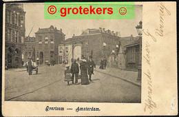 AMSTERDAM Overtoom 1902 Mooi Aankomststempel Kleinrond POLSBROEK - Amsterdam