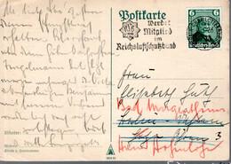 """CARTE POSTALE 1936 - OBLIT. MECANIQUE - """"DEVENIR MEMBRE DE L'ASSOCIATION DU REICH"""" - - Allemagne"""