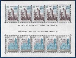 MONACO 1977 EUROPA CEPT SHEETLET KLEINBOGEN FEUILLE MI. 11 MNH** - Ongebruikt