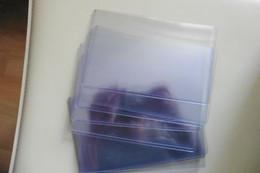 Lot De 10 Pochettes étuis Rigides Protection Pour Photos Cartes De Visite Longueur 15 Cm - Card Sleeves - Zubehör & Material
