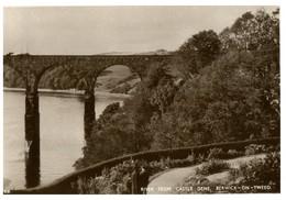 (P 33) Very Old -  UK - Berwick On Tweed (bridge) - Puentes