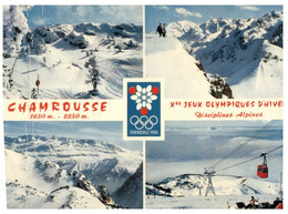 (P 35) France - Chamrousse Winter Olympic Games 1968 - Olympische Spelen