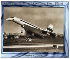 (P 35) 50th Anniversary Of Concorde First Flight (1969-2019) - 1946-....: Modern Tijdperk