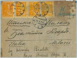 94301 - GEORGIA - POSTAL HISTORY -  COVER To ITALY 1921 - NICE!! - Georgia