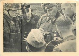 SS Obergruppenfuhrer Und General Der Waffen SS Housser Von Kommandeuren Continental Postcard - Personen