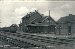 Bernissart  La Gare Vue De Derriere. (Voir Les Scan) - Bernissart