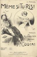 """""""Même Si Tu Ris !"""" (Mélodie) - Paroles De R. Lepeltier - Musique De P. Codini - - Musik & Instrumente"""