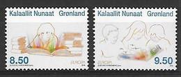 EUROPA - Année 2010 - GROENLAND Gronland - Livres Pour Enfants - N° Yvert 533/534 - Neufs** - Unused Stamps