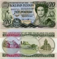 FALKLAND IS.       10 Pounds       P-18       1.1.2011       UNC - Falklandeilanden