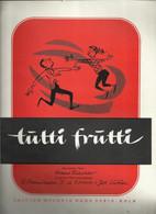 """""""Tutti Frutti"""" - Deutscher Text Hans Raster - Originaltex Und Musik R.Penniman, D. La Bostrie Und Joe Lubin - Music & Instruments"""
