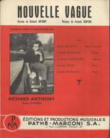 """""""Nouvelle Vague"""" Richard Anthony - Paroles De Richard Anthony - Musique De Armand Canfora - Music & Instruments"""