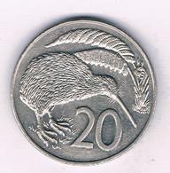 20 CENTS 1988 NIEUW ZEELAND /7641/ - New Zealand