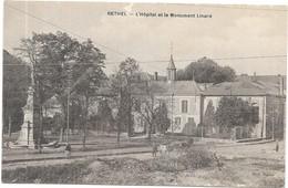 RETHEL : L'HOPITAL ET LE MONUMENT LINARD - Rethel