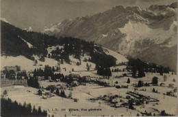 Suisse (VD) Villars (Villars Sur Ollon) Vue Generale 1914 - VD Vaud