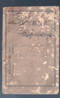 Agen :livret Militaire D'un Homme Né En 1850  (PPP23955) - Documenten