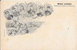 Cpa Précurseur -  Thème Militaire Mission Marchand - Publicité MOKA-LEROUX - Supérieur à Toutes Les Chicorées - Advertising