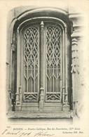 76 - ROUEN  - Fenêtre Gothique Rue Des Fourchettes - Rouen