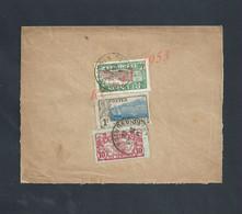 LETTRE SUR TIMBRES DE LA RÉUNION 1929 OB SAINT BENOIT EN R  & CYCLES À SAINT ETIENNE FRANCE : - Réunion (1852-1975)
