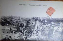 50 Manche CPA St Saint Lo Vue Prise Du Jardin Public 1929 - Saint Lo