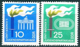 DDR - Mi 1375 / 1376 - ** Postfrisch (E) - 10-25Pf  Kinder- Und Jugendspartakiade 68 - [6] Democratic Republic