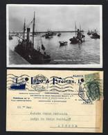 Conjunto 2 Postais PORTO De LEIXÕES Postal Fotografico + Postal Comercial: BARCOS REBOQUES Rio Douro. Lot 2 PORTUGAL - Coimbra
