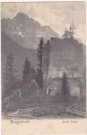 Suisse : VD Vaud : ROUGEMONT : Ruine Vanel : - VD Waadt