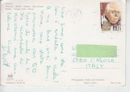MALTA  1994 - Unificato 905 - Euriopa - Su Catolina Per Italia - Malta