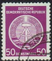 DDR, DM, 1954, Mi Nr 14X, Gestempelt - Service