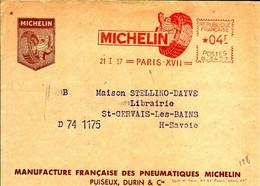 Ema Havas G 1957  Manufacture Michelin Pneux Automobile Bibendum 75 Paris C29/39 - Fabriken Und Industrien