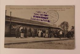 Camp De Zeist L'heure De Fourrager La Viande - Guerra 1914-18