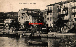 Calvi - Les Quais - 1939 - Calvi